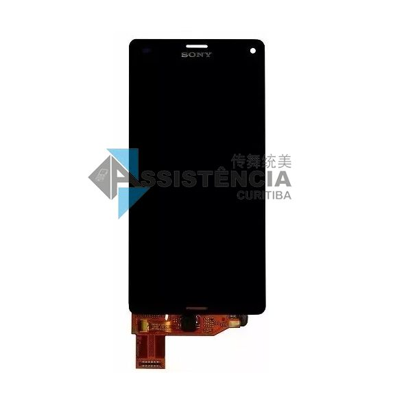 Tela Display Sony Xperia Z3 Mini Compact D5833 D5803 Preto
