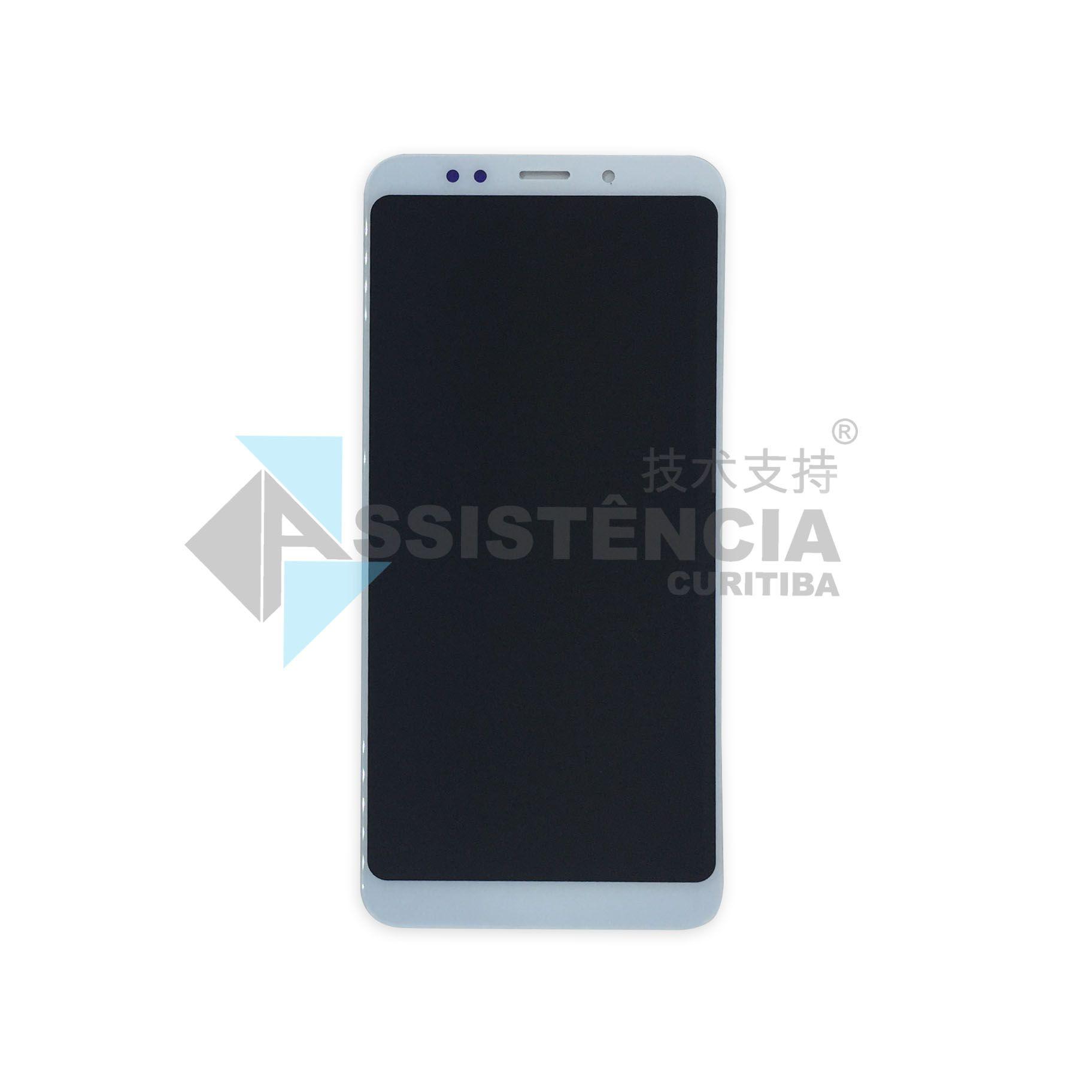 Tela Display Xiaomi Redmi 5 Plus Meg7 Branco