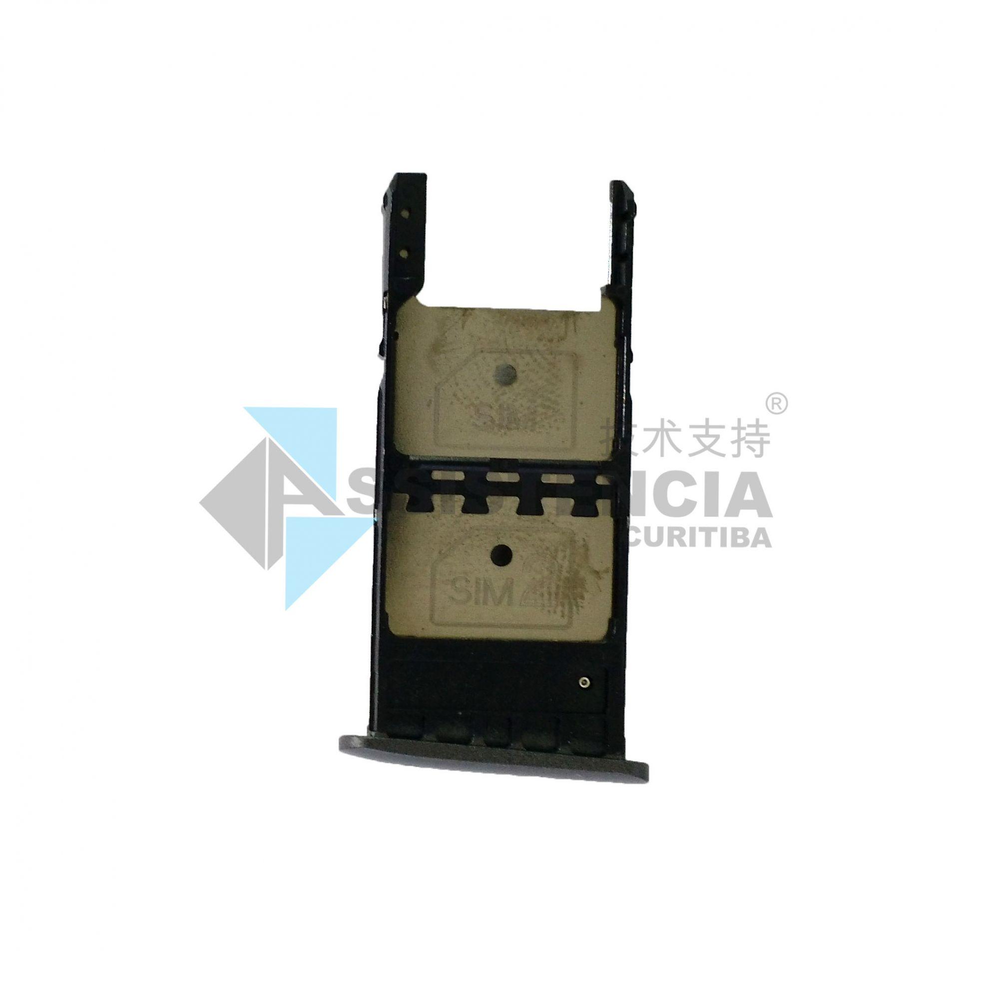 Gaveta Chip Motorola Moto G5 Plus Xt1681 Xt1683 Grafite