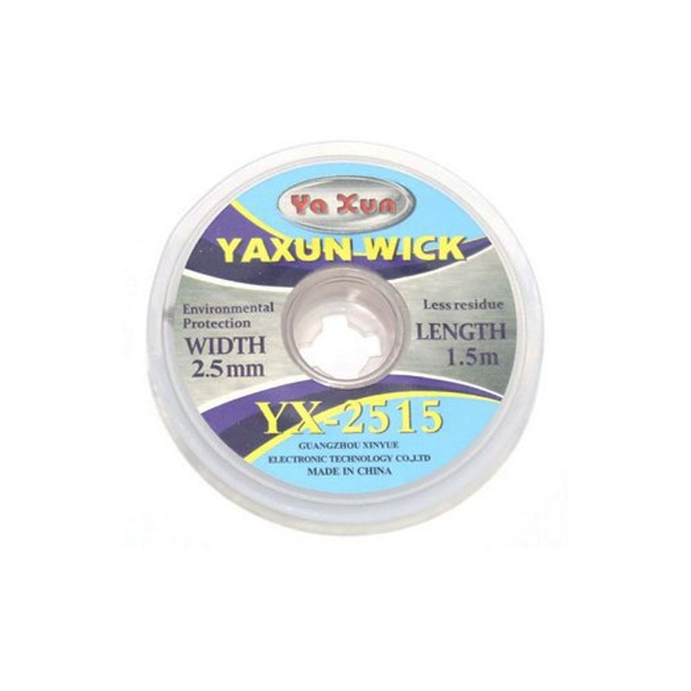 Malha Dessoldadora De Cobre Yaxun Yx 2515 2,5Mm -1.5M