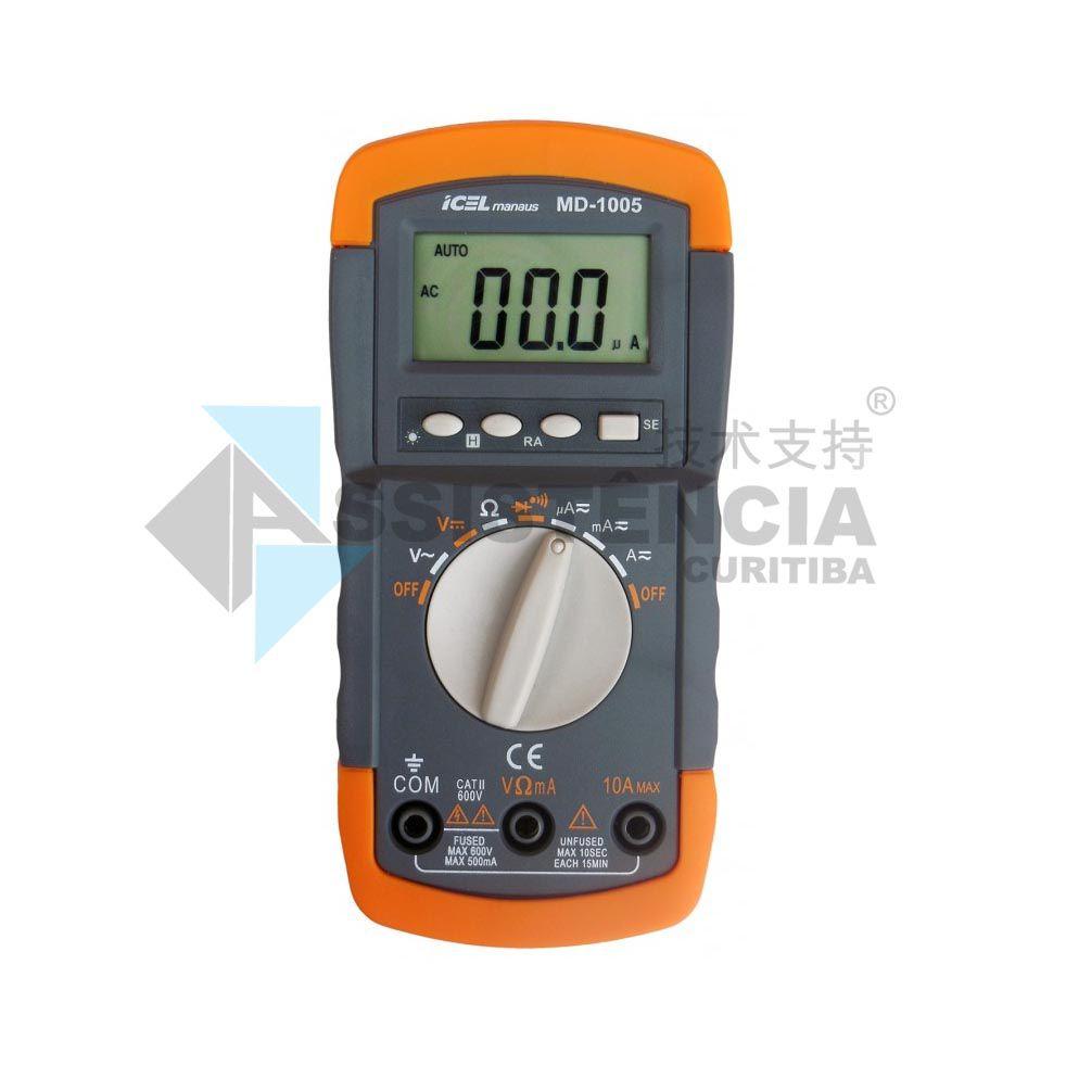 Multímetro Digital Icel Md-1005