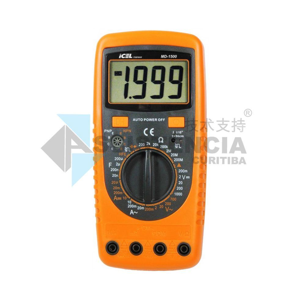 Multímetro Digital Icel Md-1500