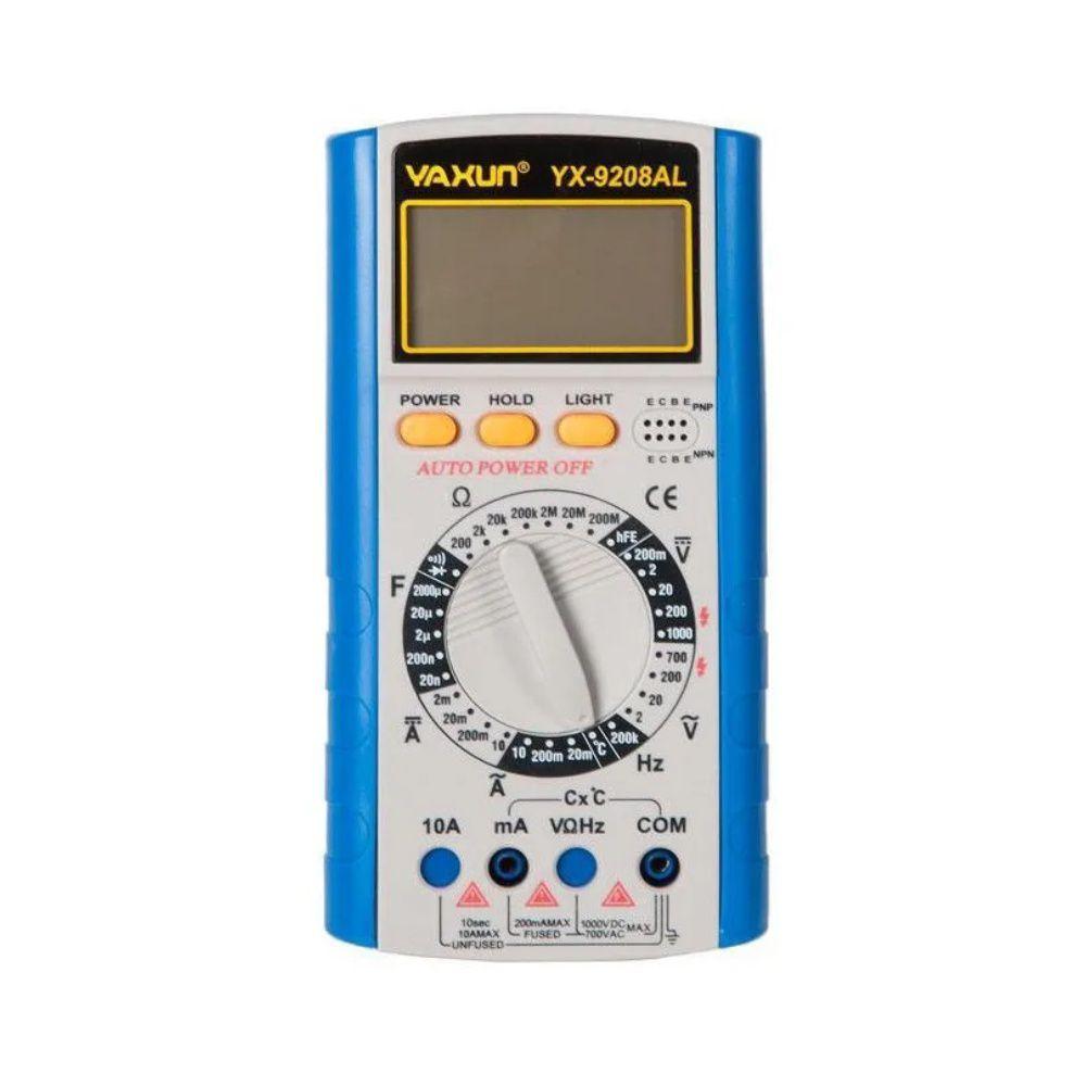 Multímetro Digital Multi Teste Yaxun Yx 9205A+