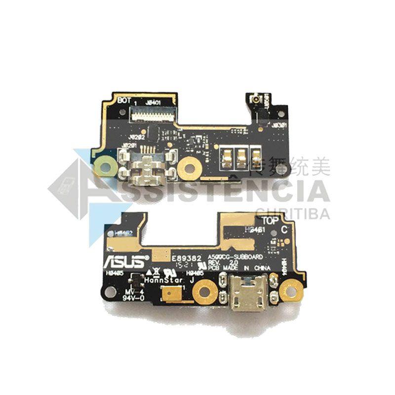 Placa Com Conector Carga E Microfone Asus Zenfone 5 A501