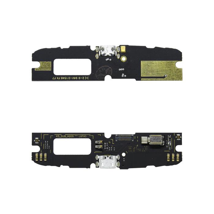 Placa Conector De Carga Lenovo K5 Note A7020