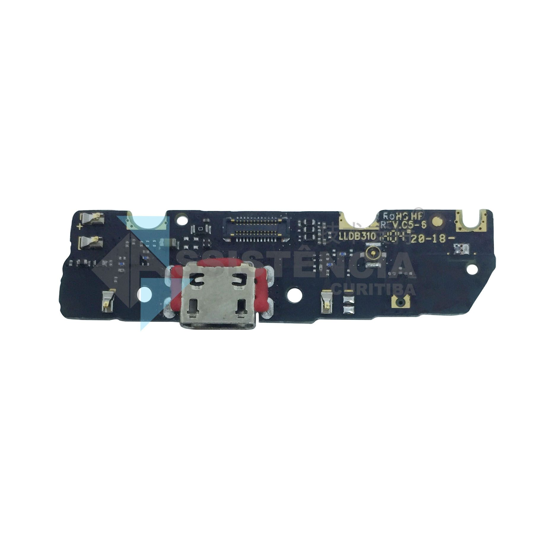 Placa Conector de Carga Motorola Moto G6 Play XT1922 Original