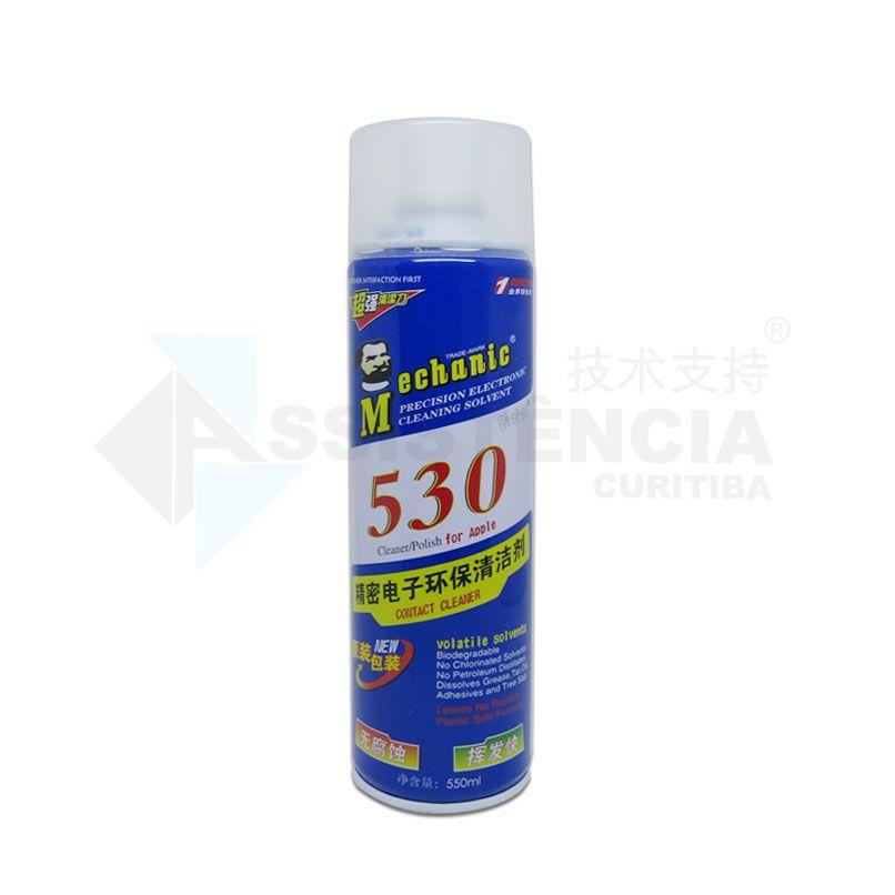 Spray Limpa Contato Celular Eletrônico 530 550Ml