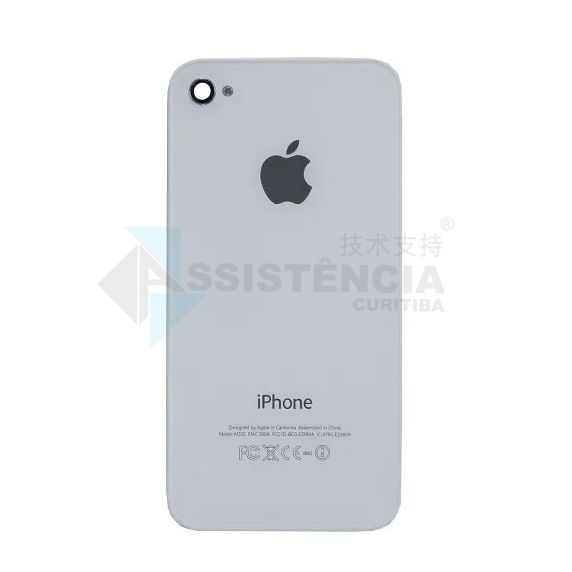 Tampa Traseira Apple Iphone 4S A1387 A1431 Branco