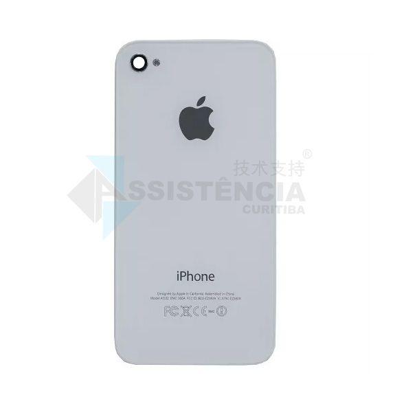 Tampa Traseira Apple Iphone 4S A1387 A1431 Branco