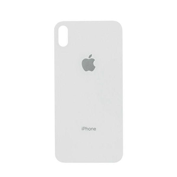 Tampa Traseira Apple Iphone Xs Max De Vidro Branco