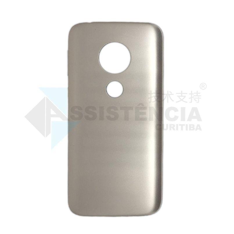 Tampa Traseira Motorola Moto E5 Play Xt1920 Xt1920-19 Dourada