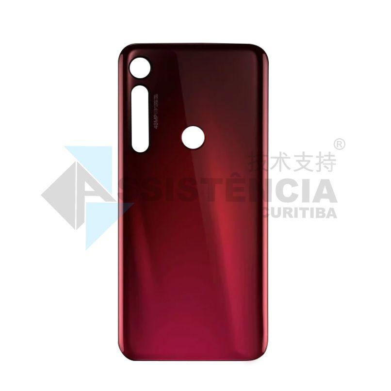 Tampa Traseira Motorola Moto G8 Plus Xt2019 Vermelha