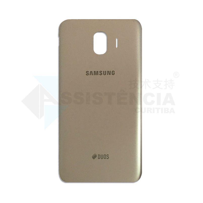 Tampa Traseira Samsung Galaxy J4 J400 Dourada