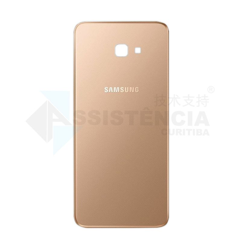 Tampa Traseira Samsung Galaxy J4 Plus J415 Dourada