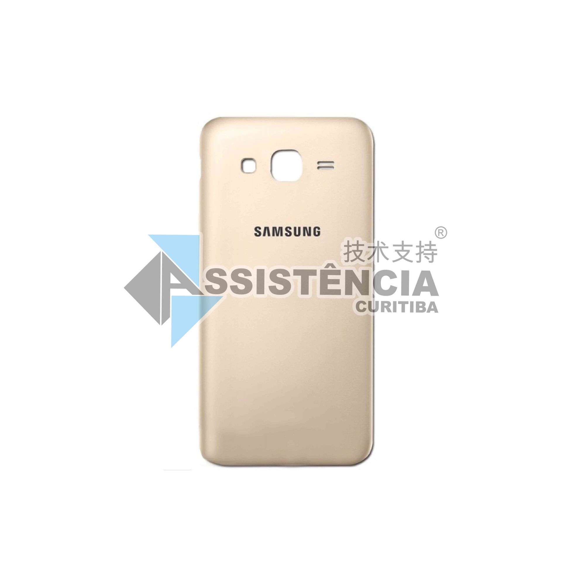 Tampa Traseira Samsung Galaxy J5 J500 J500M Dourado