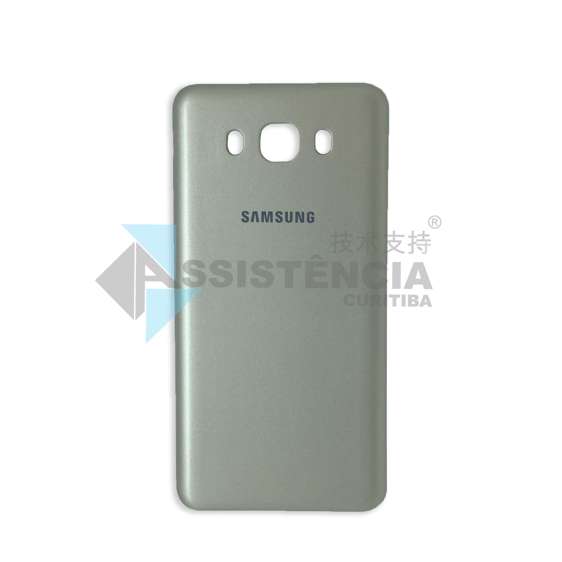 Tampa Traseira Samsung Galaxy J7 2016 Metal Sm J710 Dourado