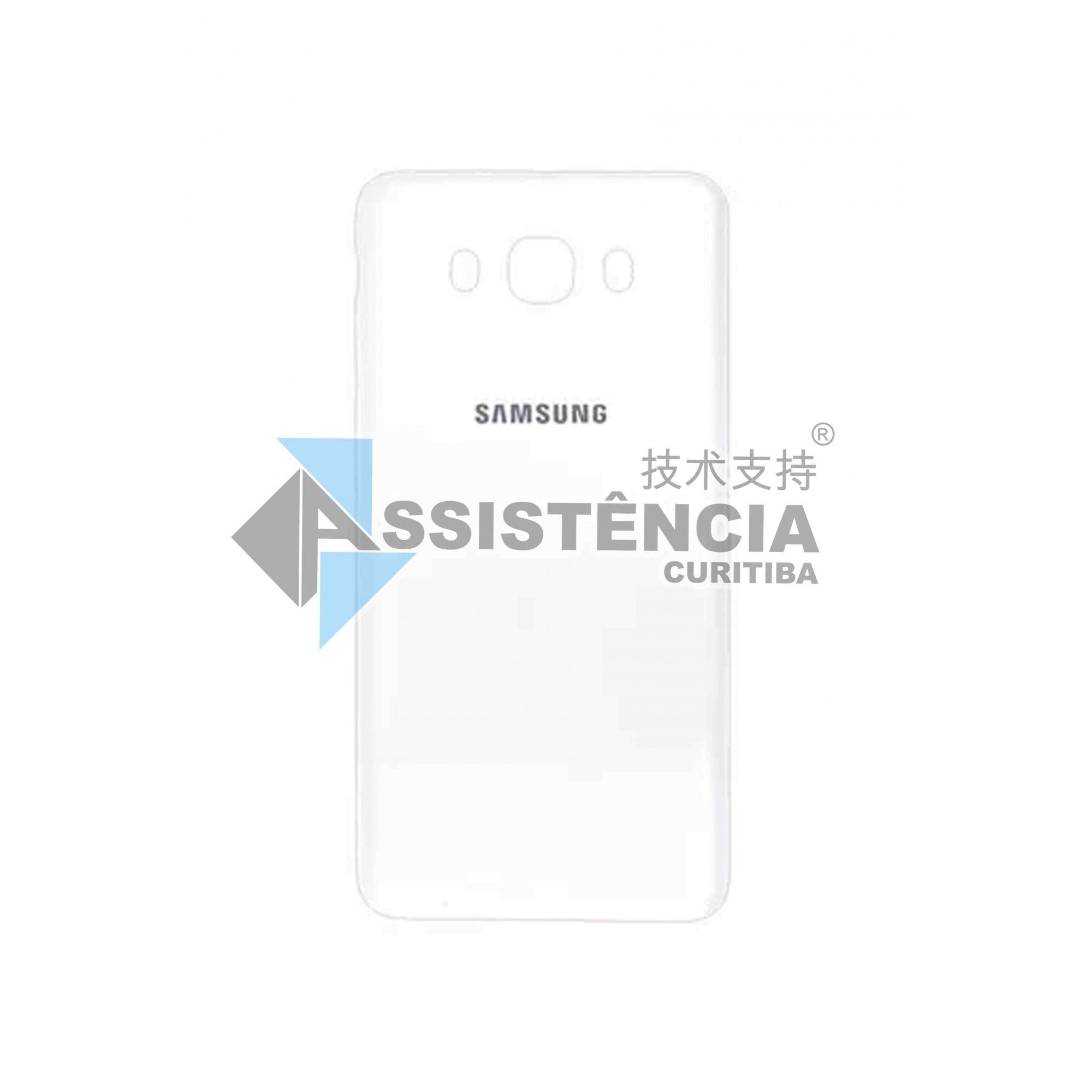 Tampa Traseira Samsung Galaxy J7 2016 Metal Sm J710 Branco