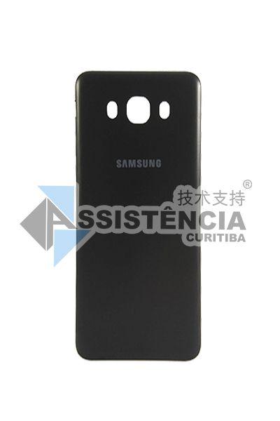 Tampa Traseira Samsung Galaxy J7 2016 Metal Sm J710 Preto