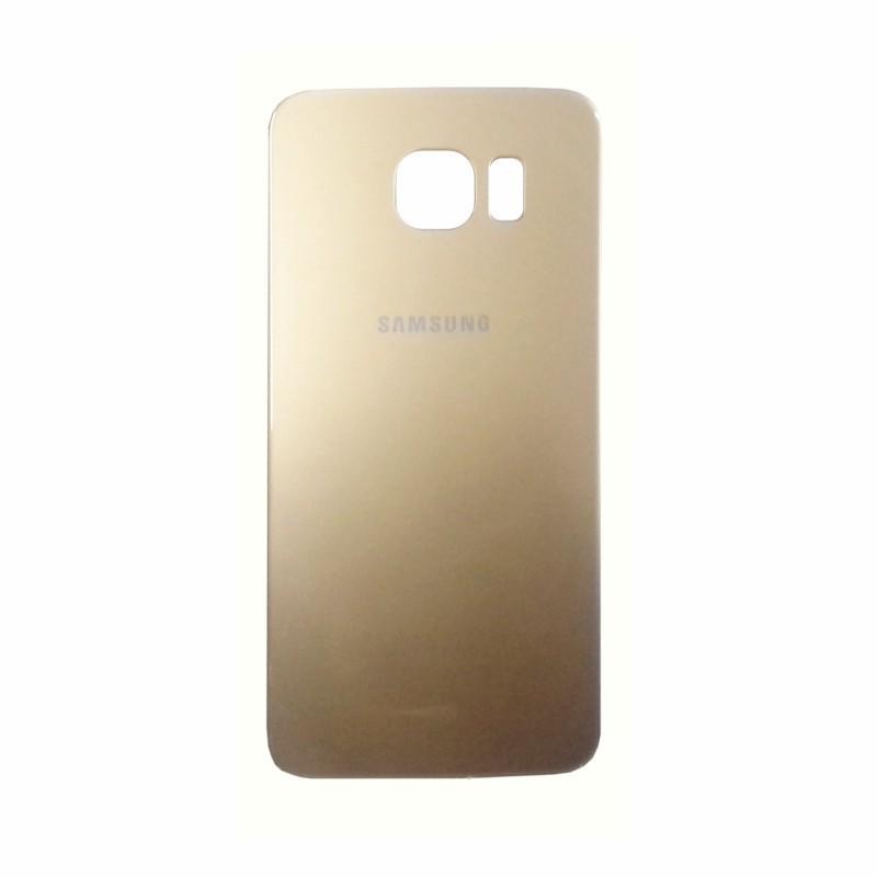 Tampa Traseira Samsung Galaxy S6 Sm-G920 Dourado
