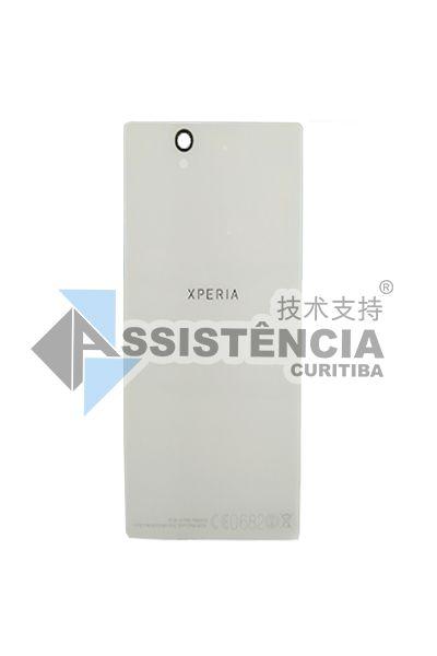 Tampa Traseira Sony Xperia Z Lt36H Lt36I C6602 C6603 Branco