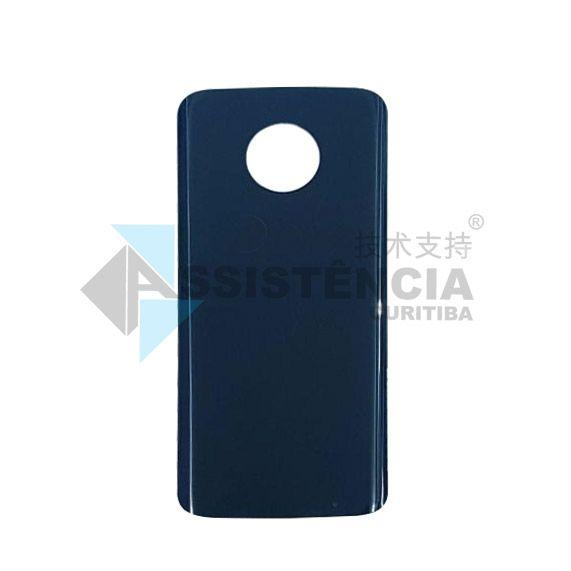 Tampa Traseira Motorola Moto G6 Plus Xt1926 Índigo