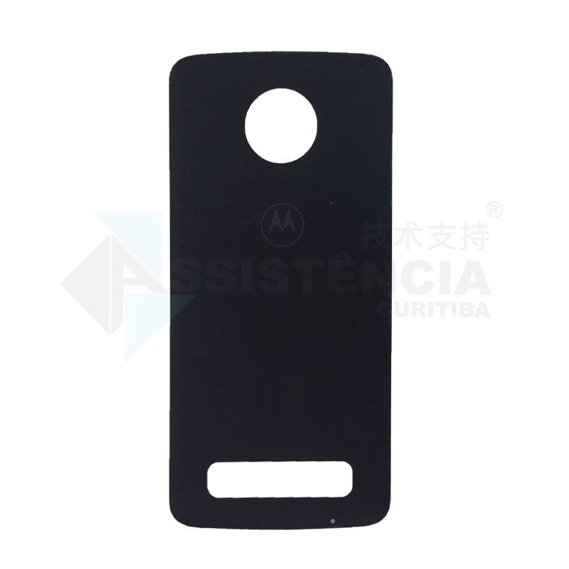 Tampa Traseira Motorola Moto Z3 Play XT1929 Preta