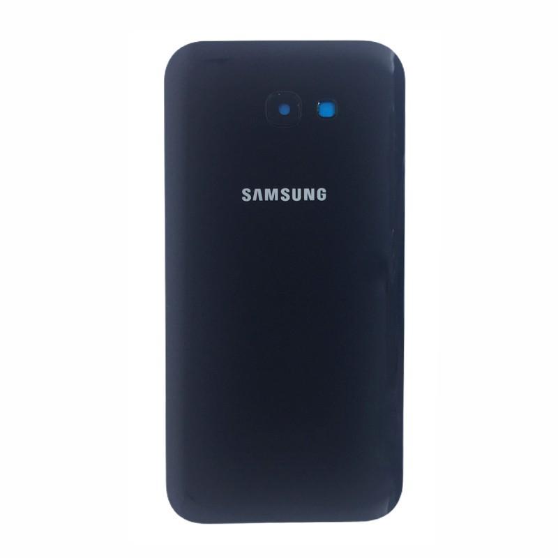 Tampa Traseira Samsung A7 2017 A720 SM-A720 Preto