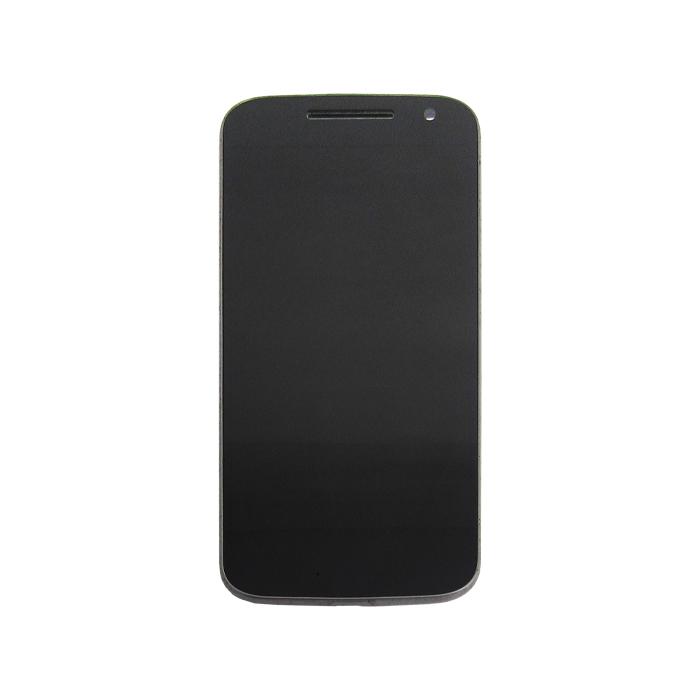 Tela Display Motorola Moto G4 Xt1622 Xt1626 Com Aro Preto