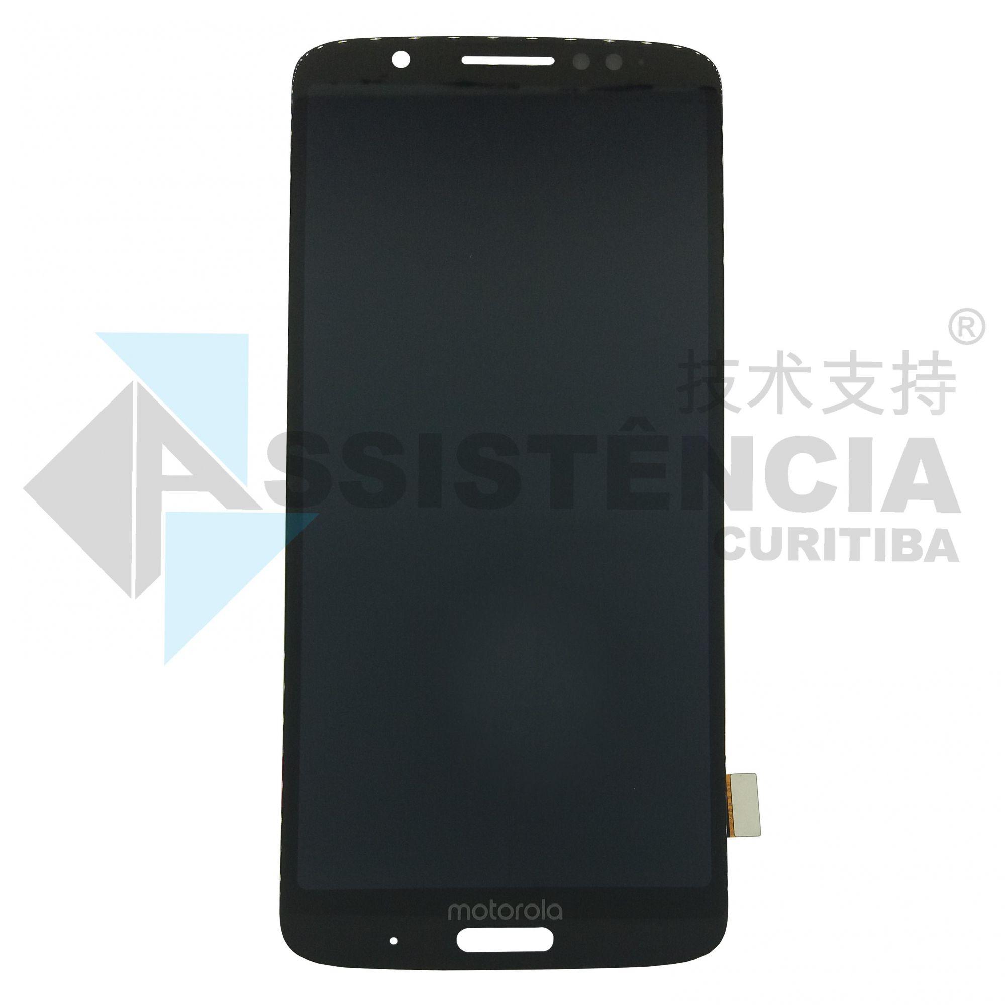 Tela Display Motorola Moto G6 Plus Xt1926 Preto