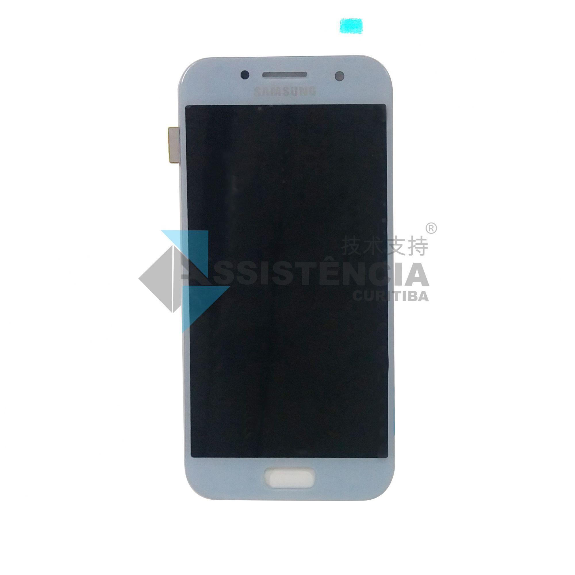 Tela Display Samsung Galaxy A3 2017 Sm A320 Original Azul
