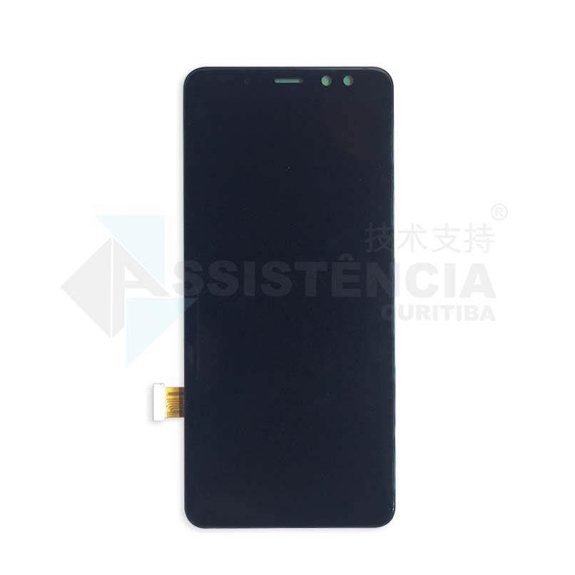 Tela Display Samsung Galaxy A8 2018 Sm-A530 Original