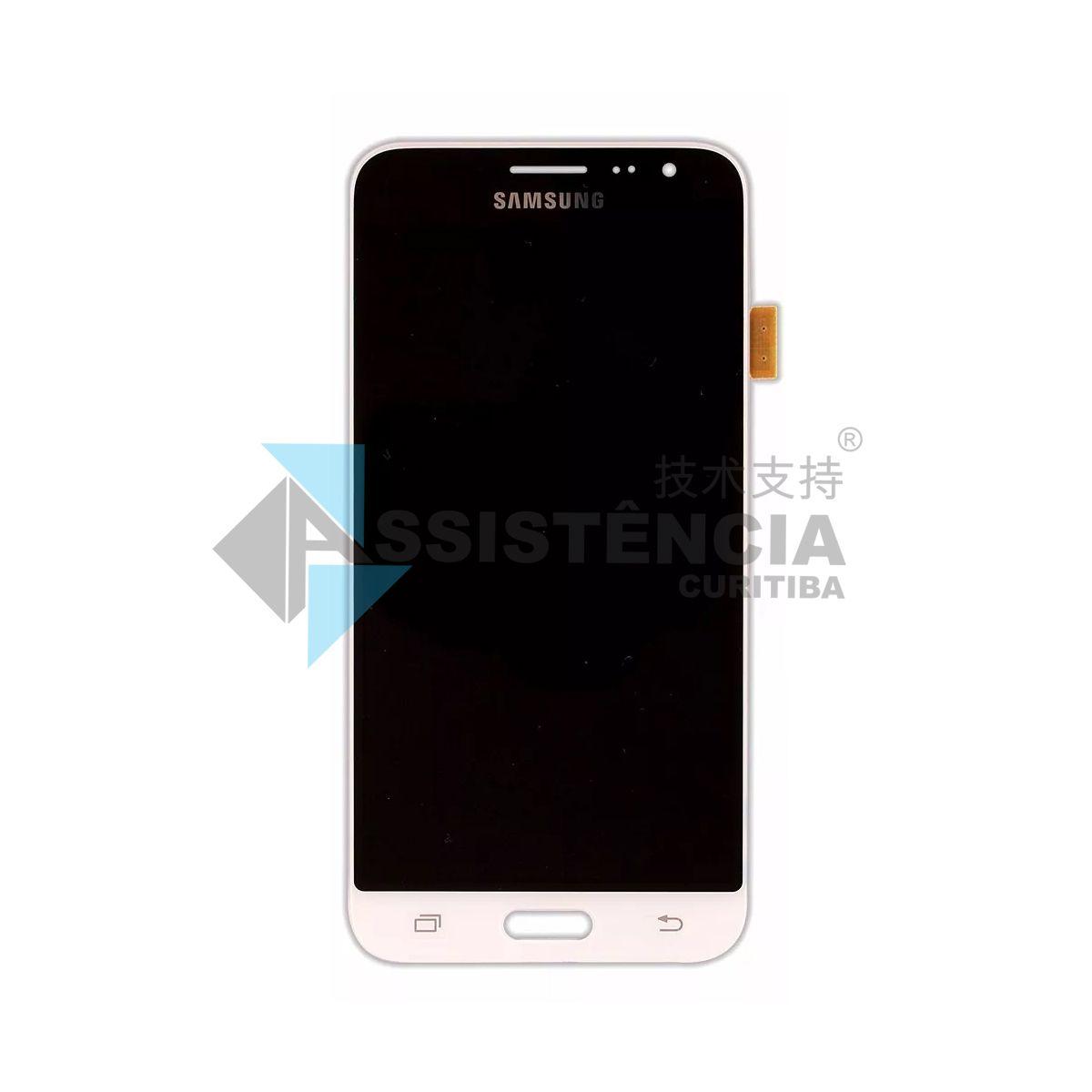 Tela Display Samsung Galaxy J3 J320 Sm-J320 2016 Original Branco