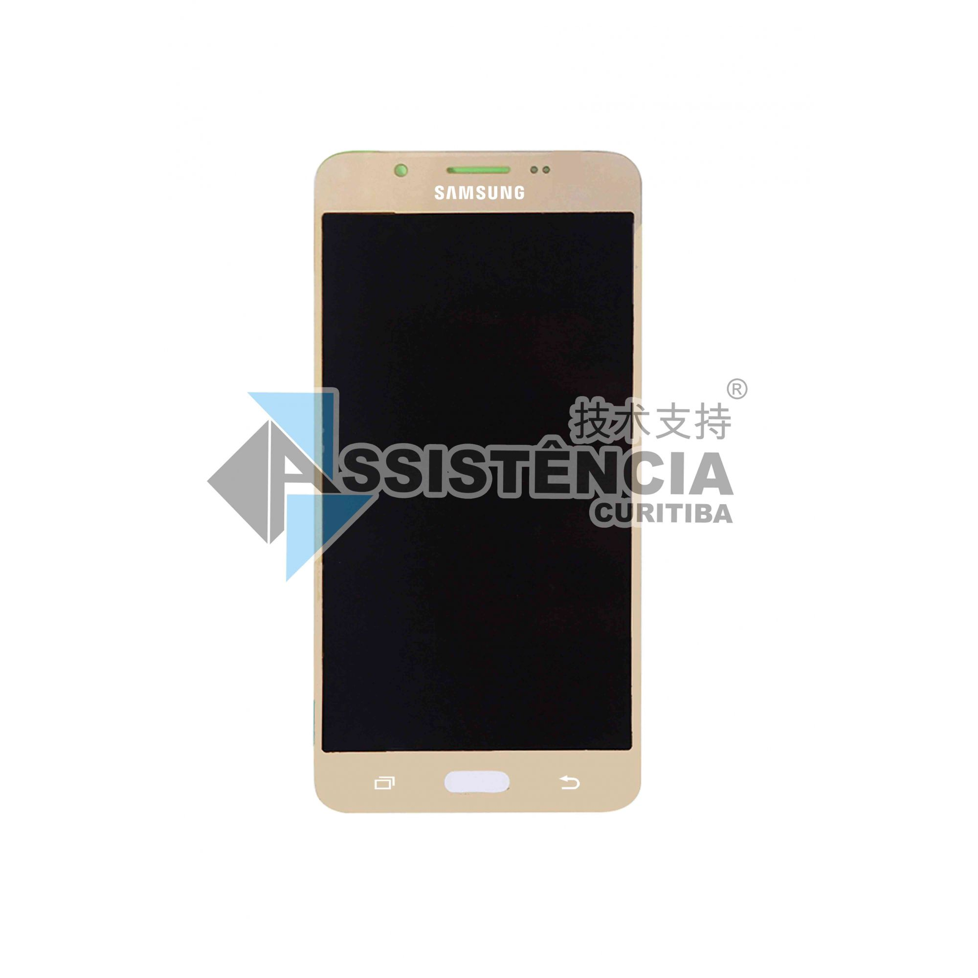 Tela Display Samsung Galaxy J5 J510 Metal 2016 Sm-J510Mm Original Ch Dourado