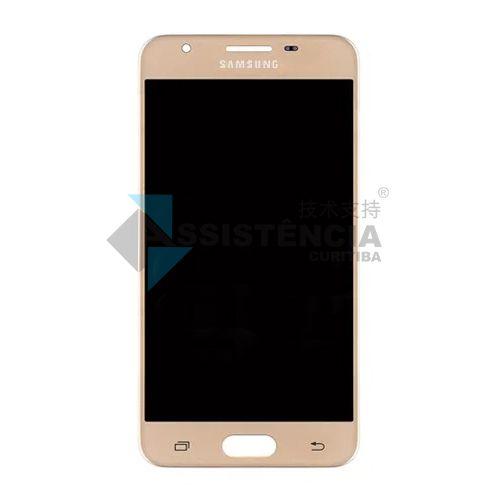 Tela Display Samsung Galaxy J5 Prime G570 Dourado