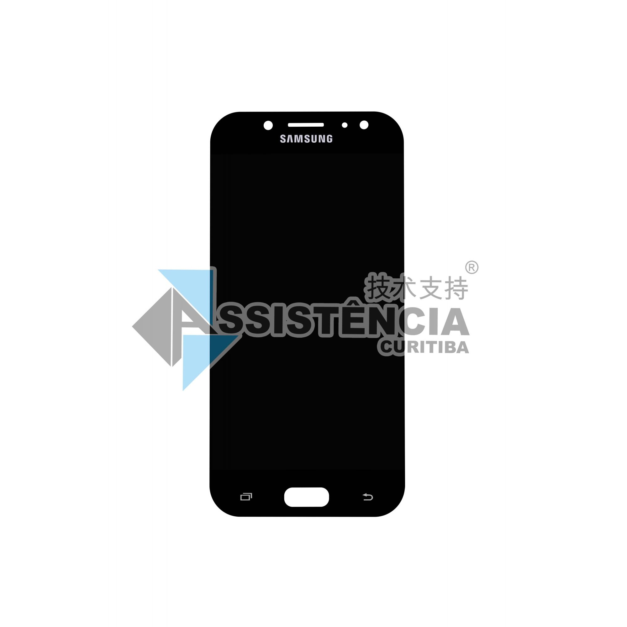 Tela Display Samsung Galaxy J5 Pro 2017 J530G/DS Original Ch Preto
