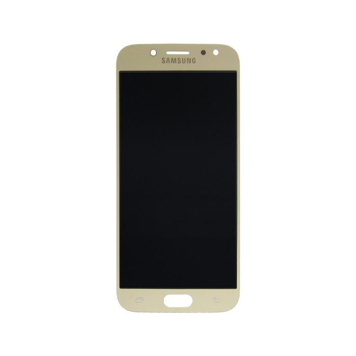 Tela Display Samsung Galaxy J5 Pro J530 Com Brilho Dourado