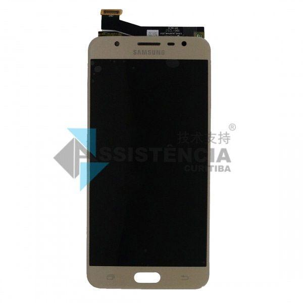 Tela Display Samsung Galaxy J7 Prime Sm-G610 Dourado