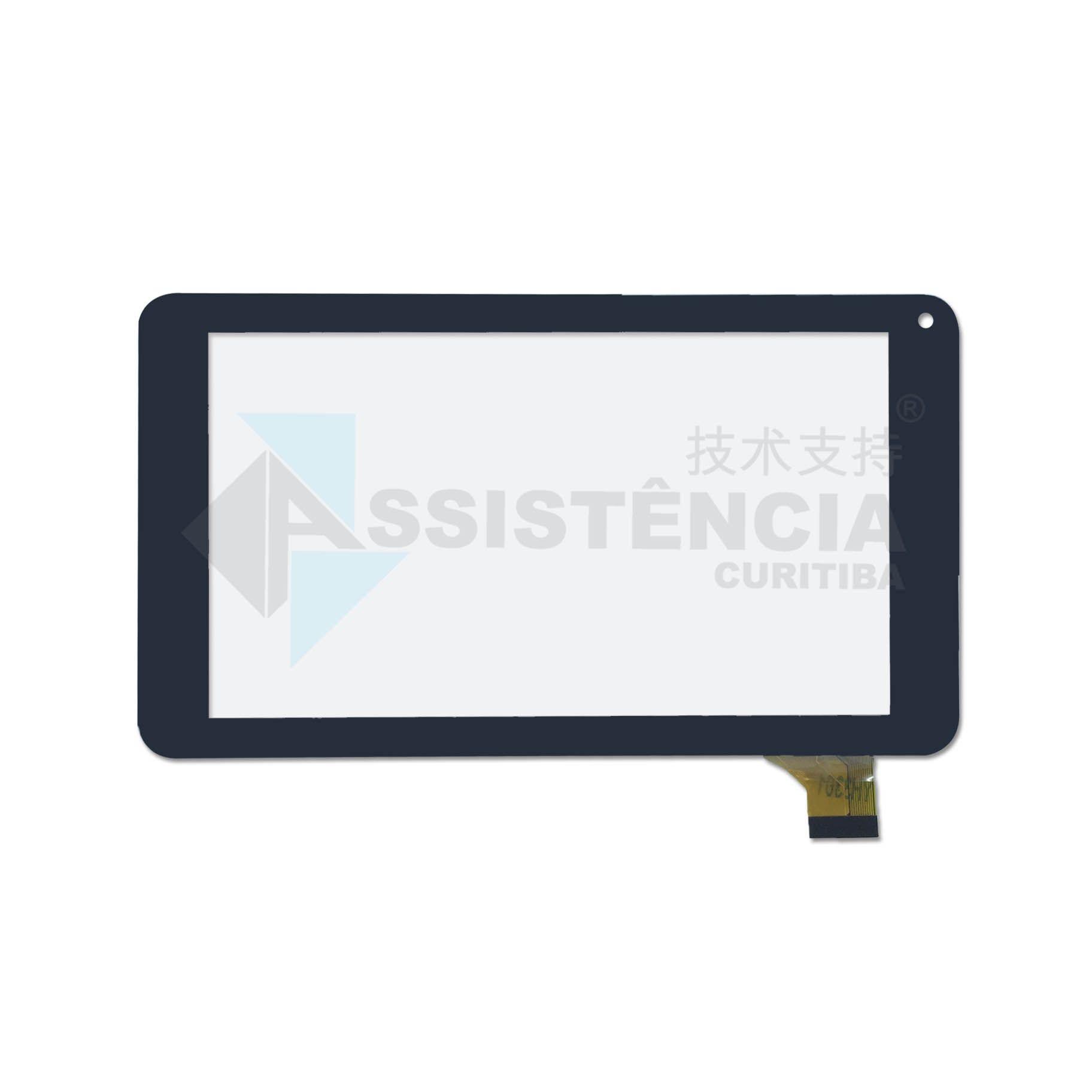 Tela Touch Aoc S70G12 Preto