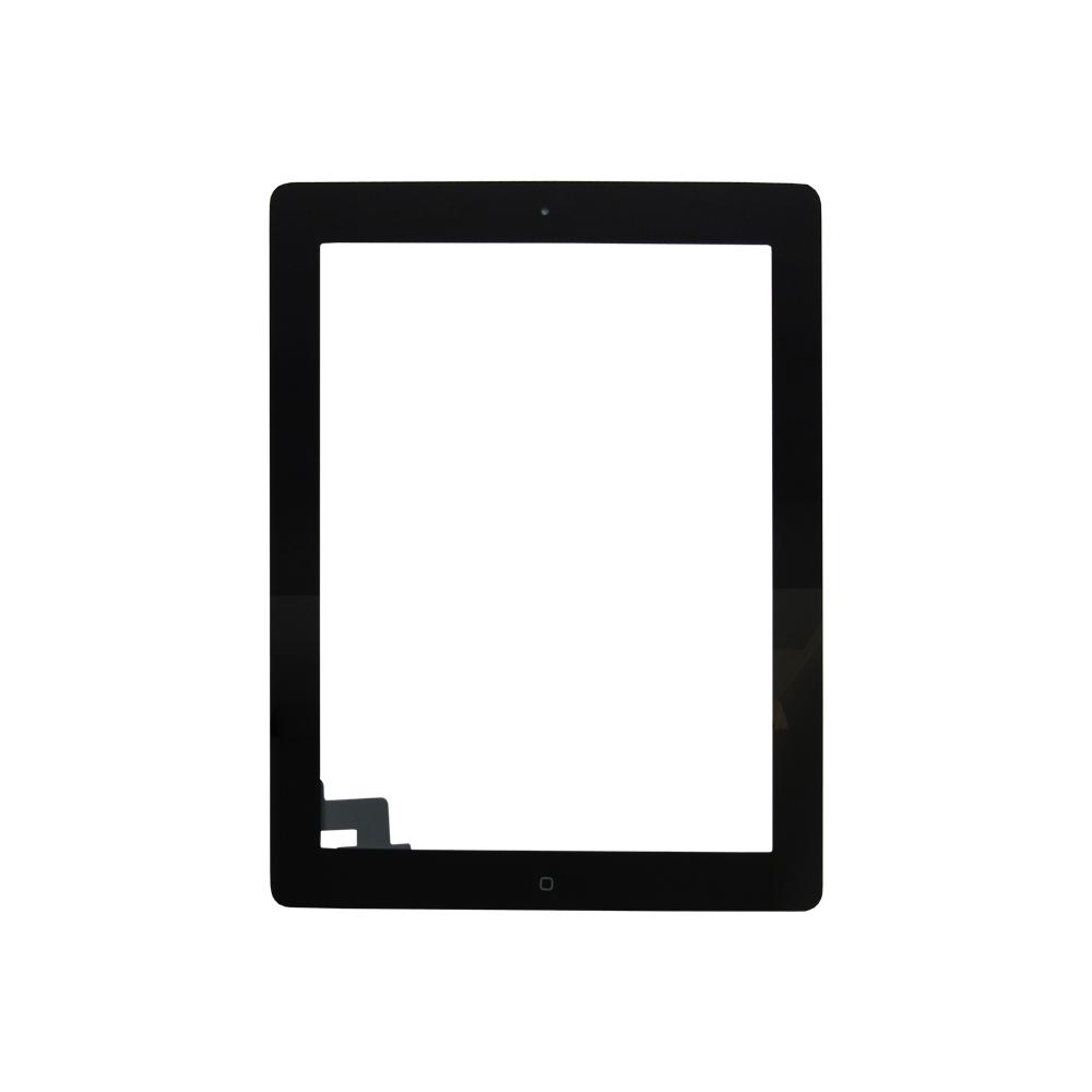 Tela Touch Apple Ipad 2 Com Botão Home Preto