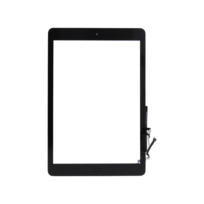 Tela Touch Apple Ipad 5 Air Com Botão Home Preto