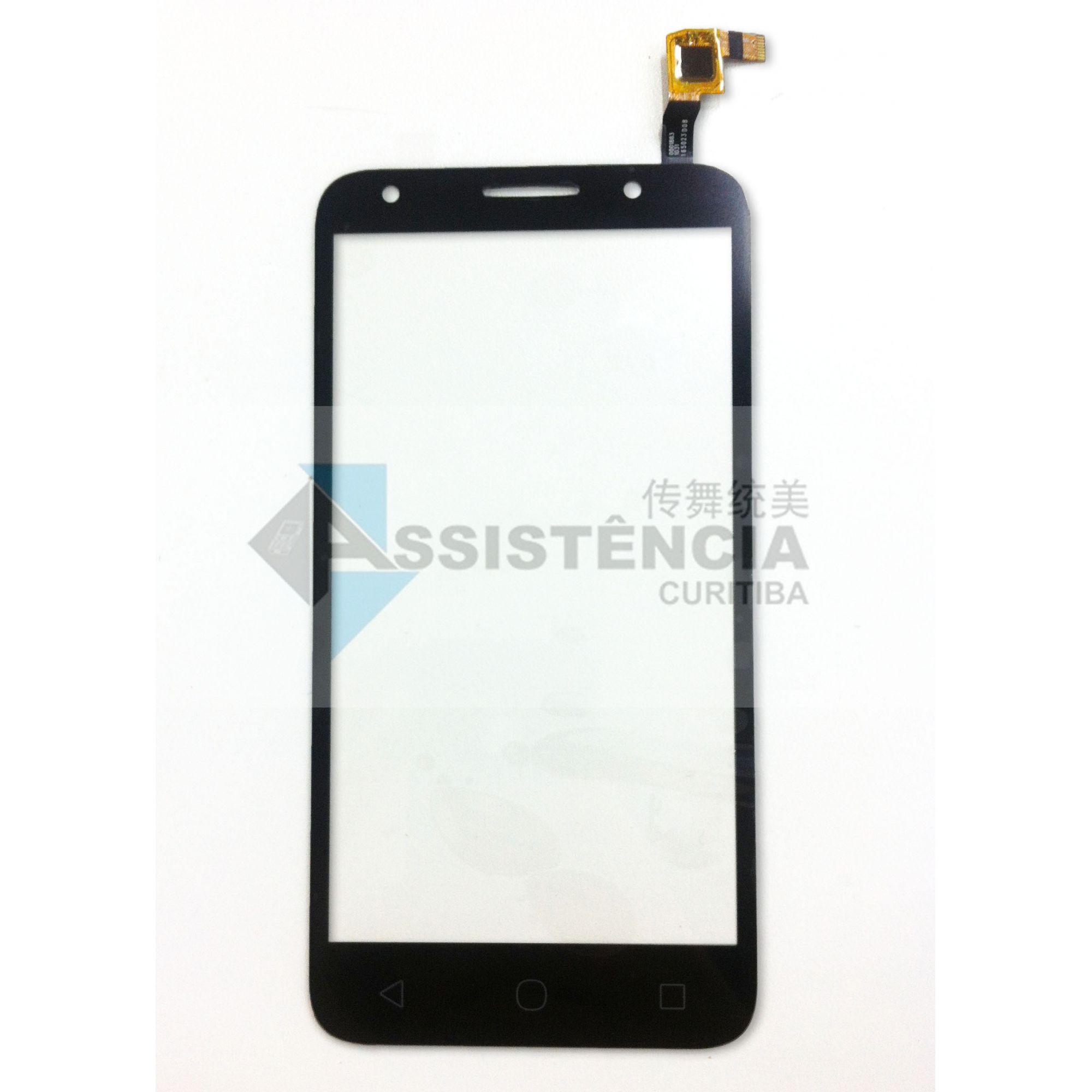 Tela Touch Alcatel Pixi 4 Ot5045 5045 Preto