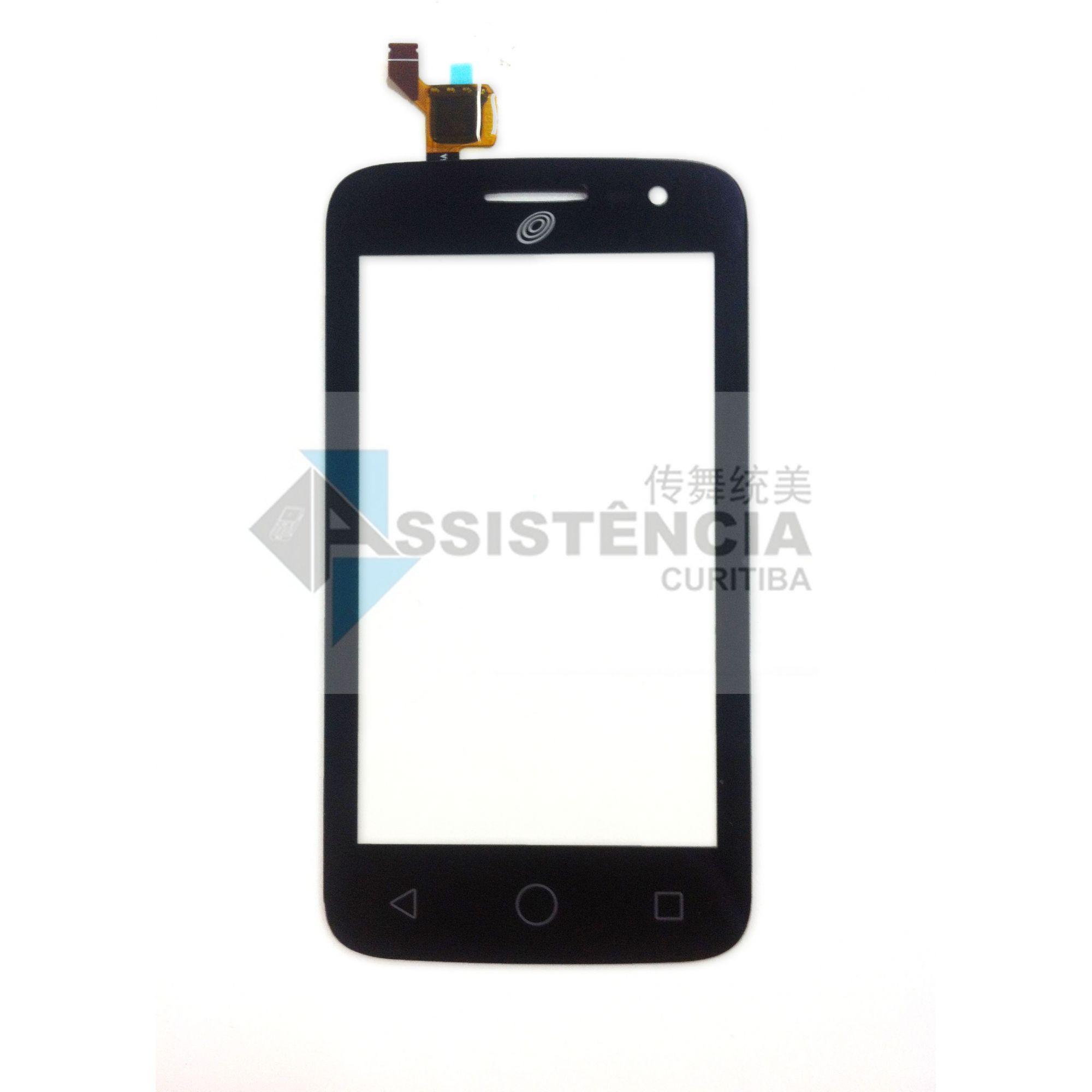 Tela Touch Alcatel Pop 2 Ot4045 4045A Preto