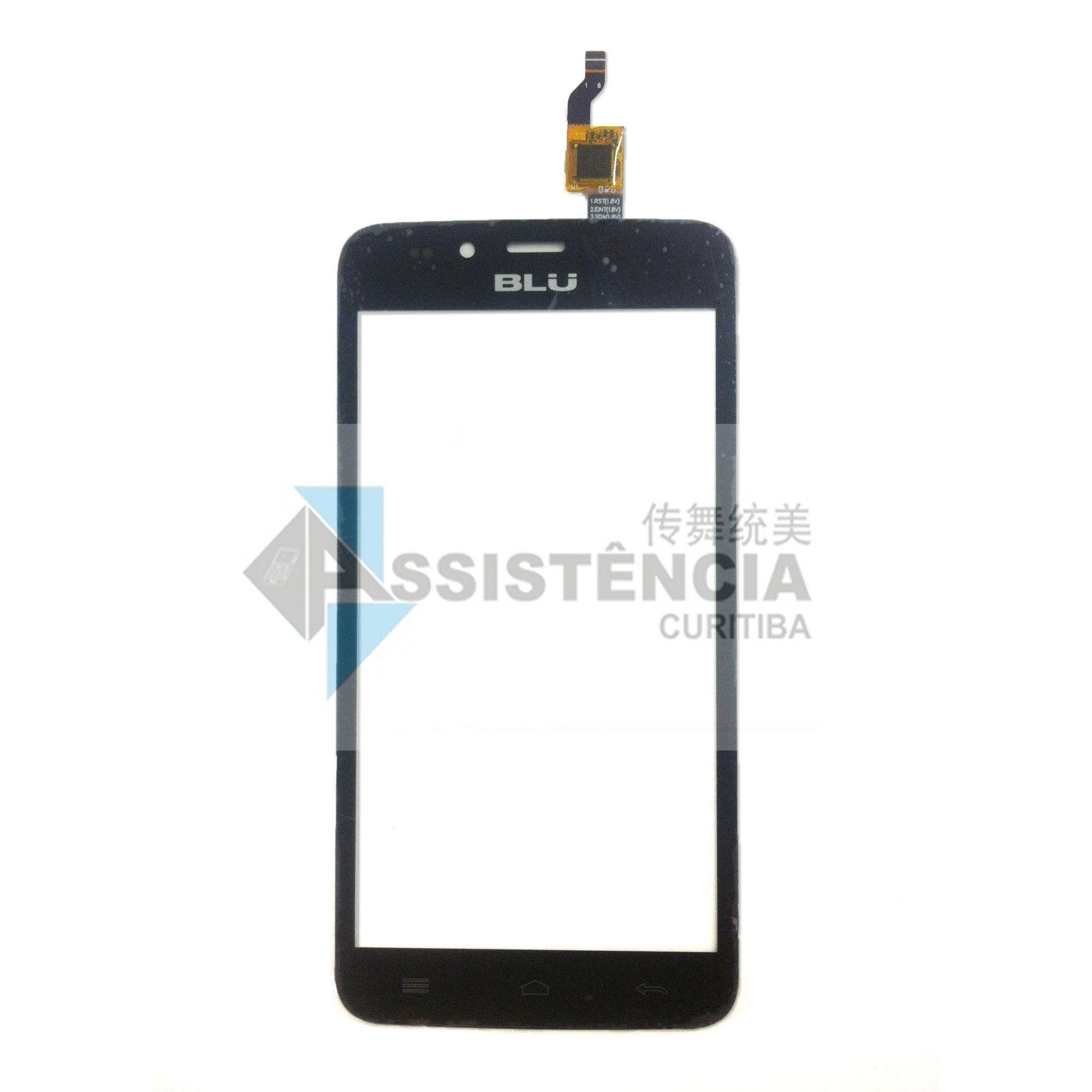 Tela Touch Blu 5.0 N050 Preto