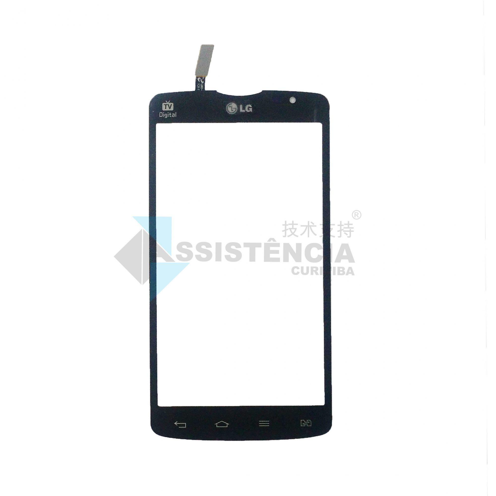 Tela Touch Lg L80 Dual 5.0 D380 D385 Preto