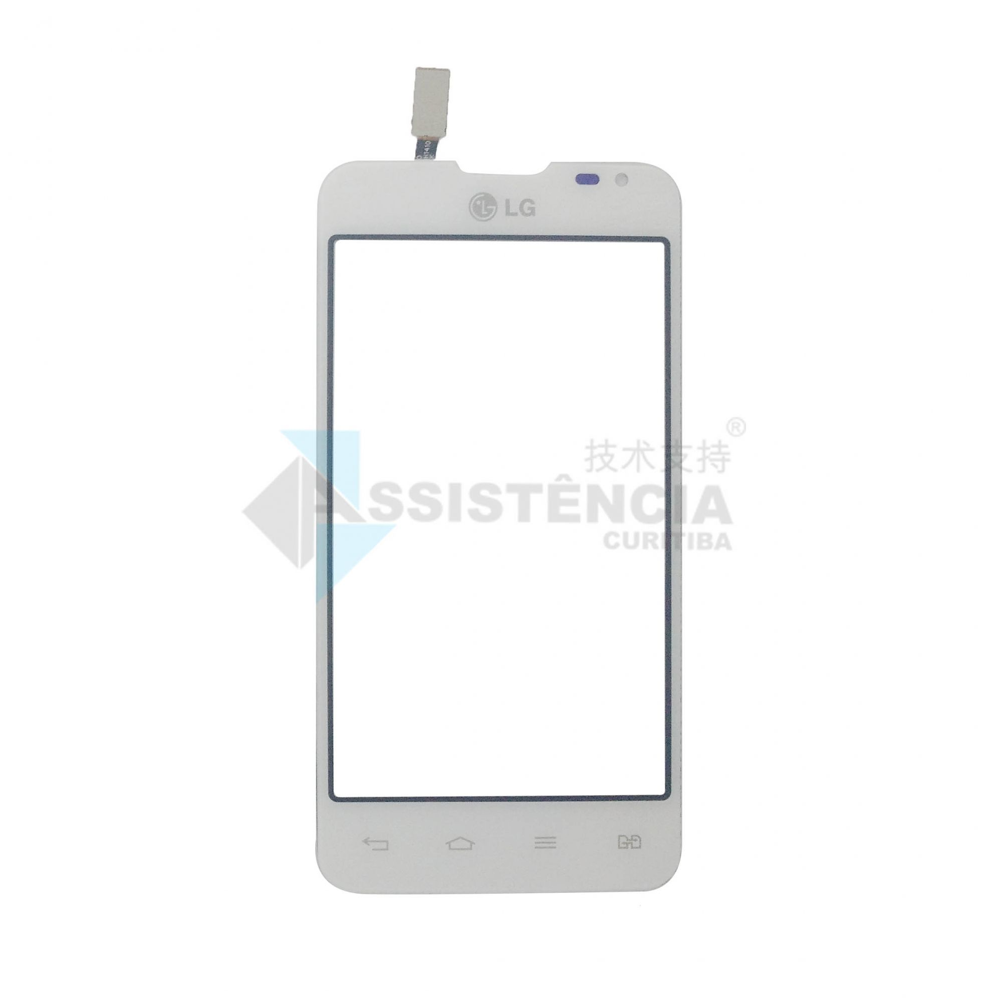 Tela Touch Lg Optimus L65 Dual D285F D285 Branco