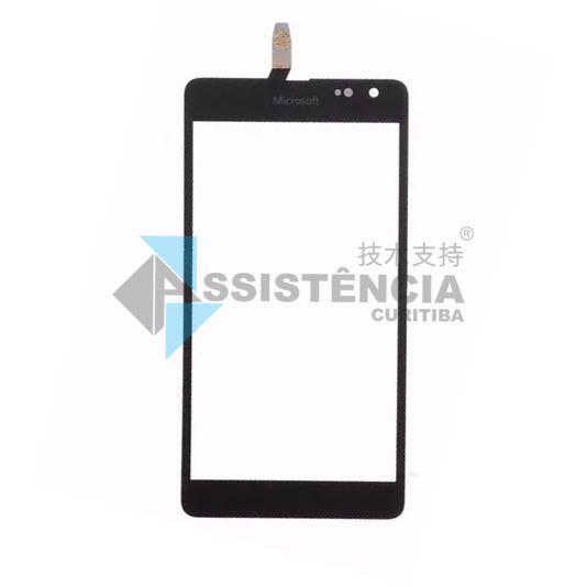 Tela Touch Microsoft Nokia Lumia N535 Versão Ct2C 2C Rm-1092 Preto