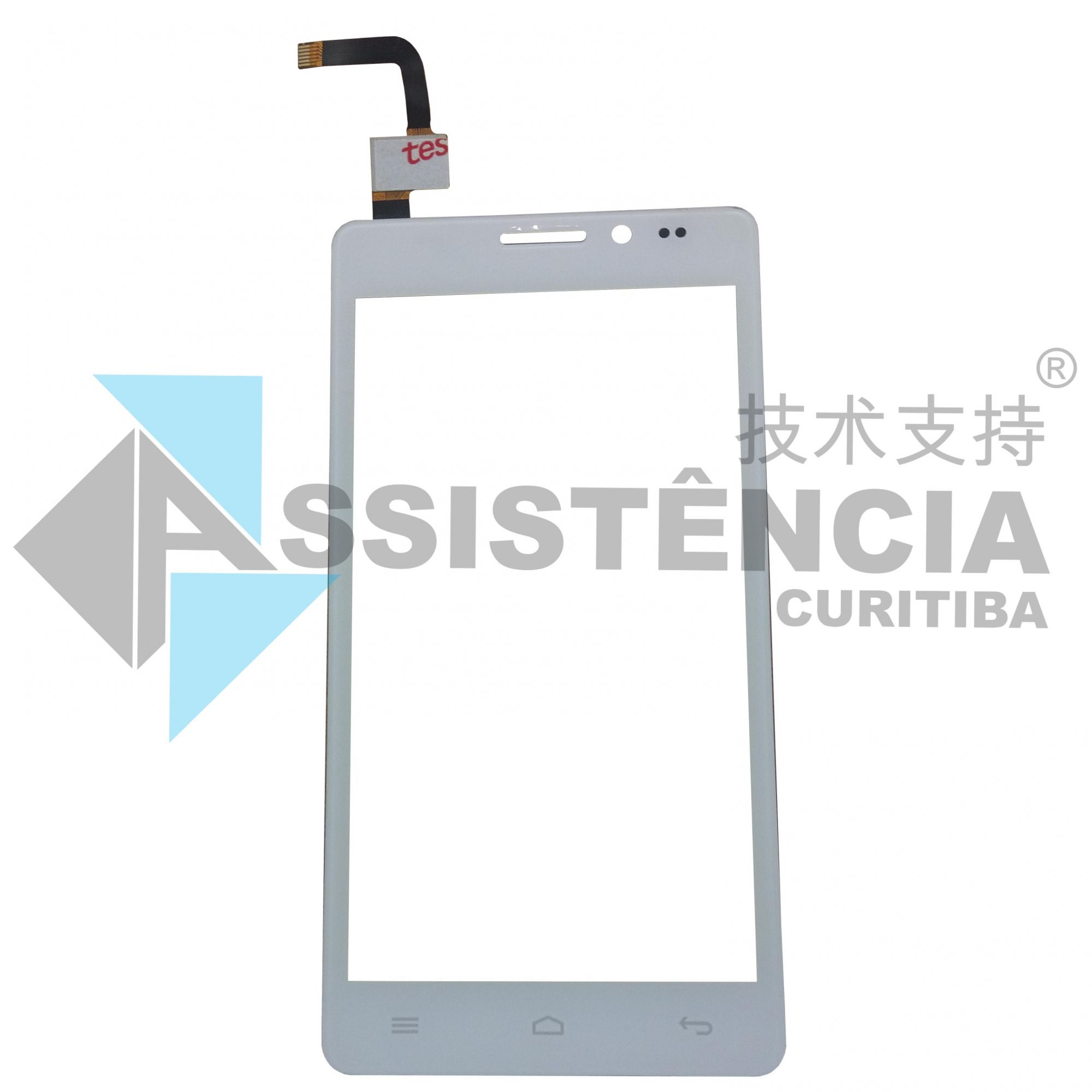 Tela Touch Multilaser Ms5 Branco