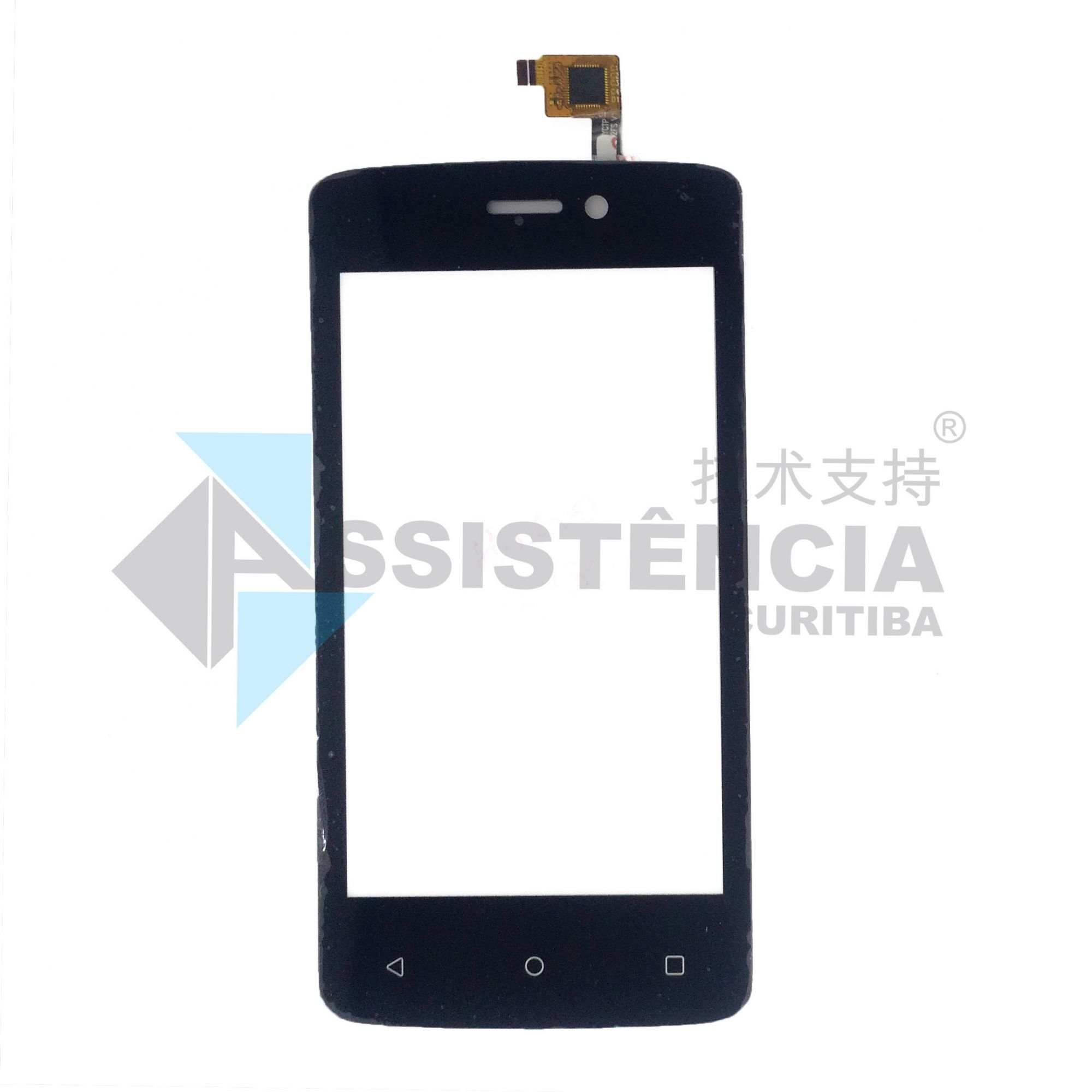 Tela Touch Positivo Twist Mini S430 Preto