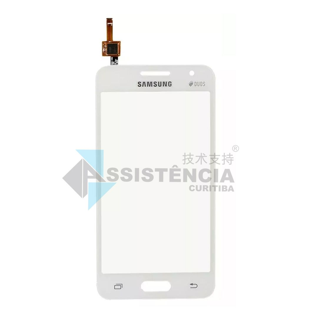 Tela Touch Samsung Galaxy Core 2 Duos G355 G355M G355H Branco