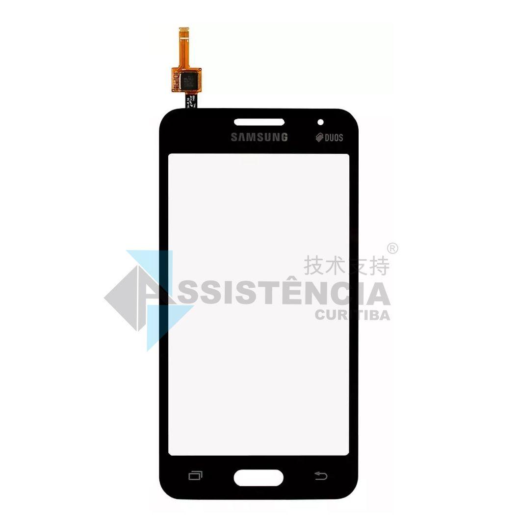 Tela Touch Samsung Galaxy Core 2 Duos G355 G355M G355H Preto